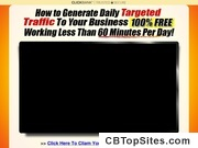 60 Minutes Free Traffic Formula - generate 100% Free Targeted Traffic within 60 Minutes Per day!