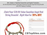 Claim Your $39.99 Guardian Angel Red String Bracelet now for more than 70% off!