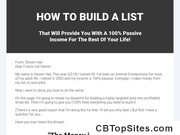 List Builder Pro - Done-for-you List Building System