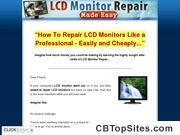 LCD Monitor Repair Made Easy - How To Repair LCD MOnitors