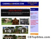 Cabins and Sheds collection for $49 - You own the rights!!