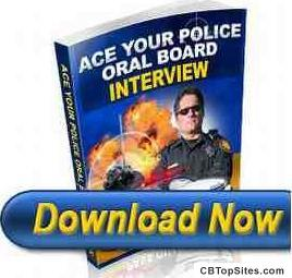 Police Oral Board - Police interview questions for the oral board exam