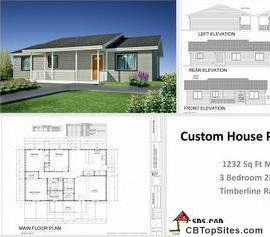 $2 House and Cabin Plans -AutoCAD DWG discount packages for immediate download