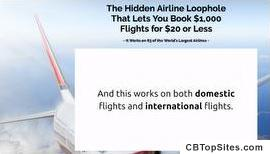 Book $1,000 Flights for $20