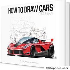 How To Draw Cars Fast and Easy | The Insider Secrets To