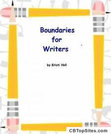 Thank You for Purchasing Boundaries for Writers ~ Kristi Holl