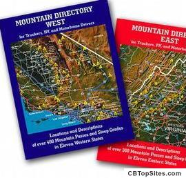 Mountain Books - Complete With Mountain Maps