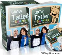 "Grow Taller For Dummiesâ""¢ - How To Grow Taller & How to Increase Height in the next 45 days"