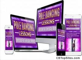 Home Pole Dancing Lessons Course Pole Fitness Dancing