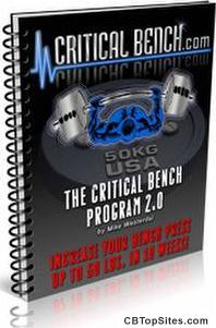 Increase Bench Press Program from Critical Bench