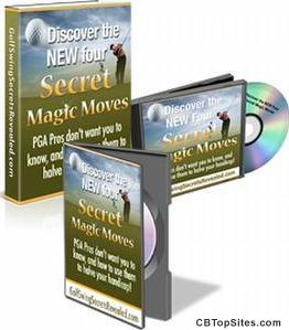 The New Four Magic Moves To Winning Golf Secrets By Andy Brown