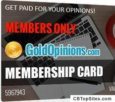 Gold Opinions - Online Paid Surveys