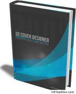 3D Cover Designer 2017 - Virtual 3D cover and mockup creator